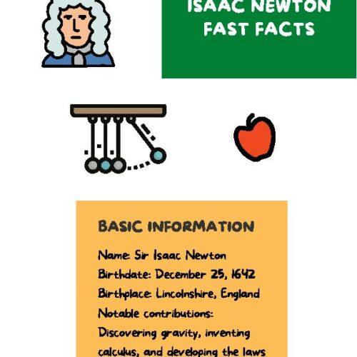 Isaac Newton Physics Reading Passage