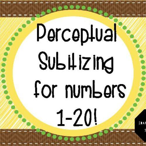 Perceptual Subitizing