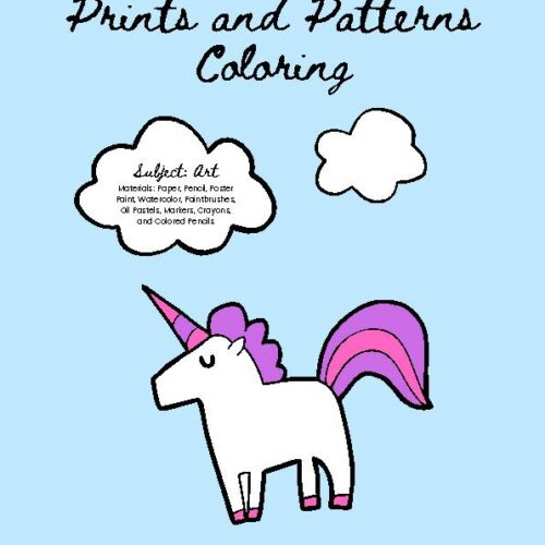 Coloring Prints and Patterns