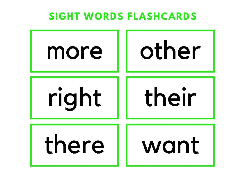 Sight Words Flashcards's featured image