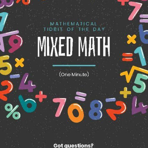 Mixed Minute Math