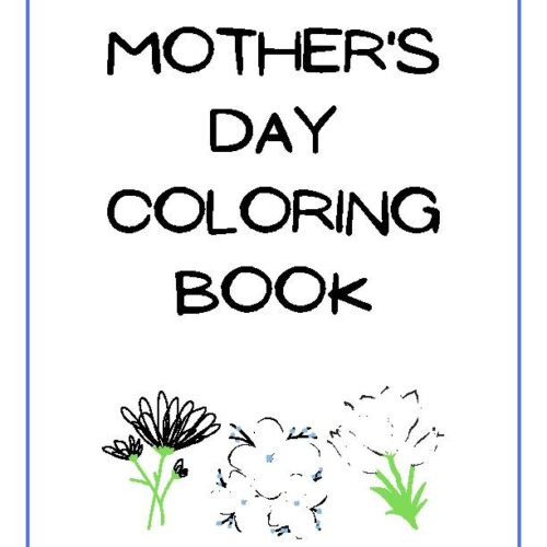 A Mother's Day Coloring Book