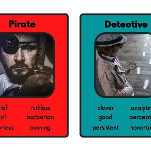 Character Description Flashcards