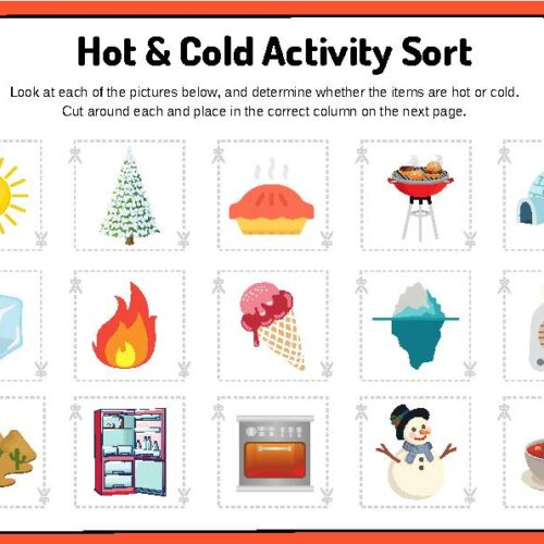 Hot and Cold Activity Sort