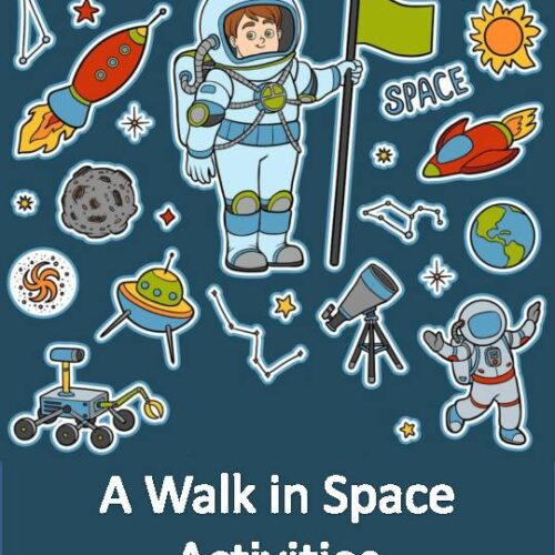 A Walk in Space Activities - Outer Space Activities - Space Activities