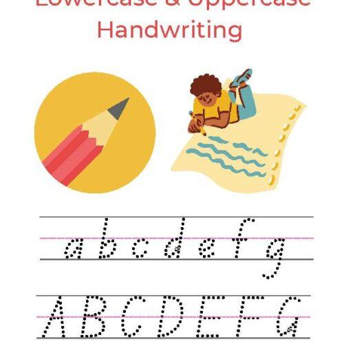Lowercase & Uppercase Handwriting