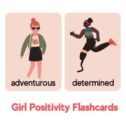 Girl Positivity Flashcards