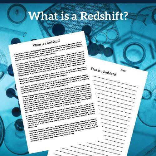 Redshift, Reading Passage