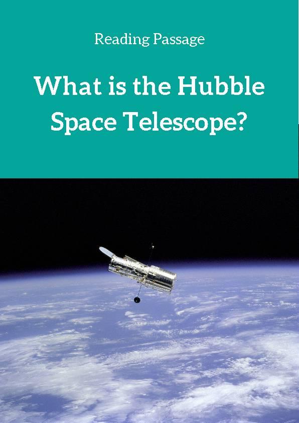 Hubble Space Telescope, Reading Passage