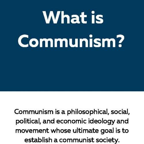 Communism, Reading Passage
