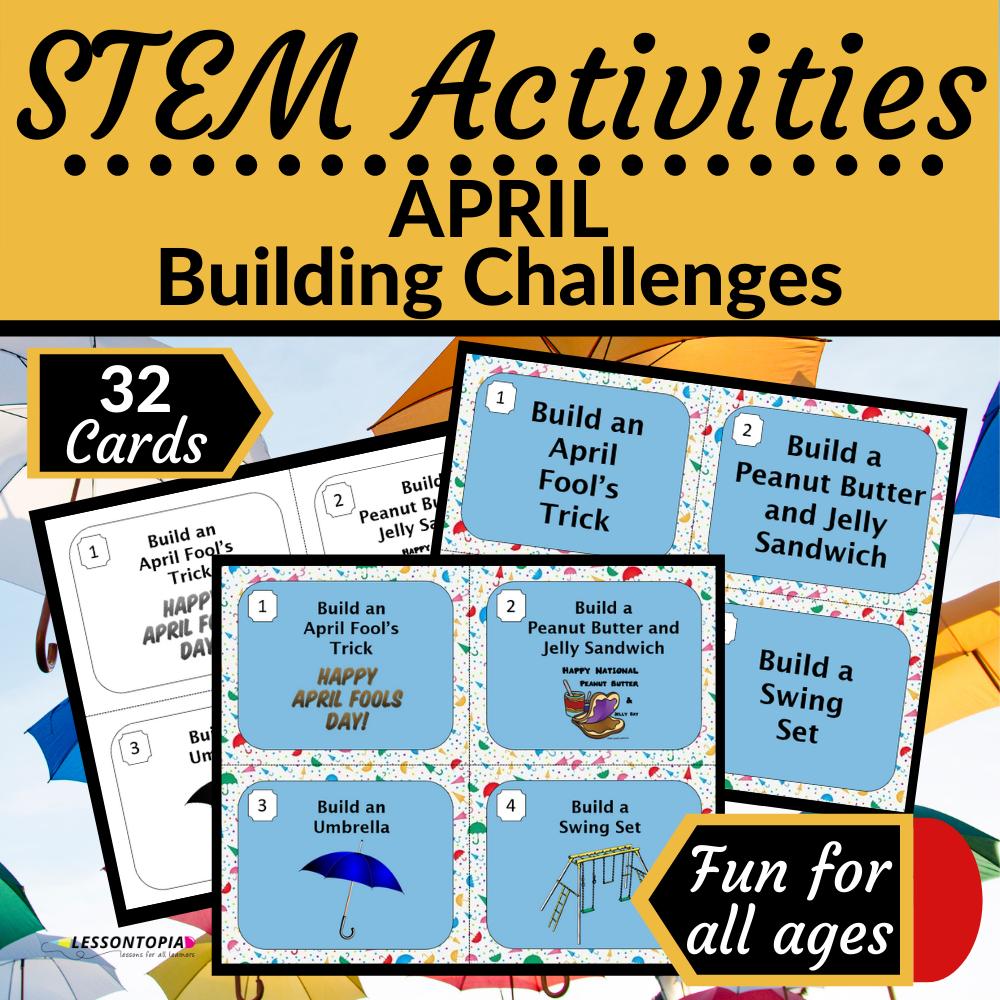 STEM Activities | April Building Challenges