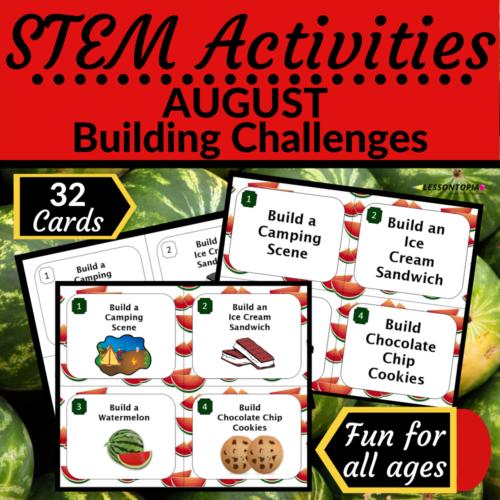 STEM Activities | August Building Challenges