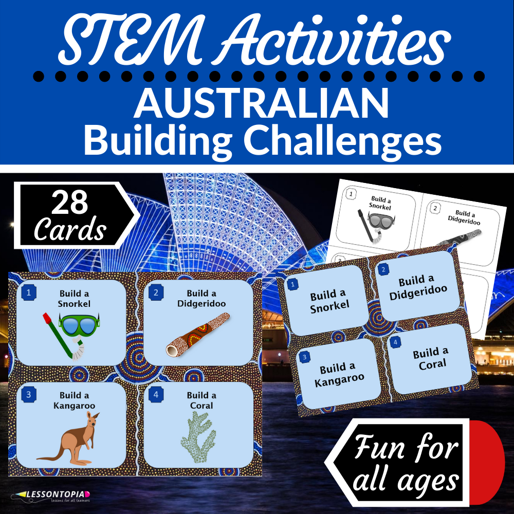 STEM Activities | Australia | Australian Building Challenges