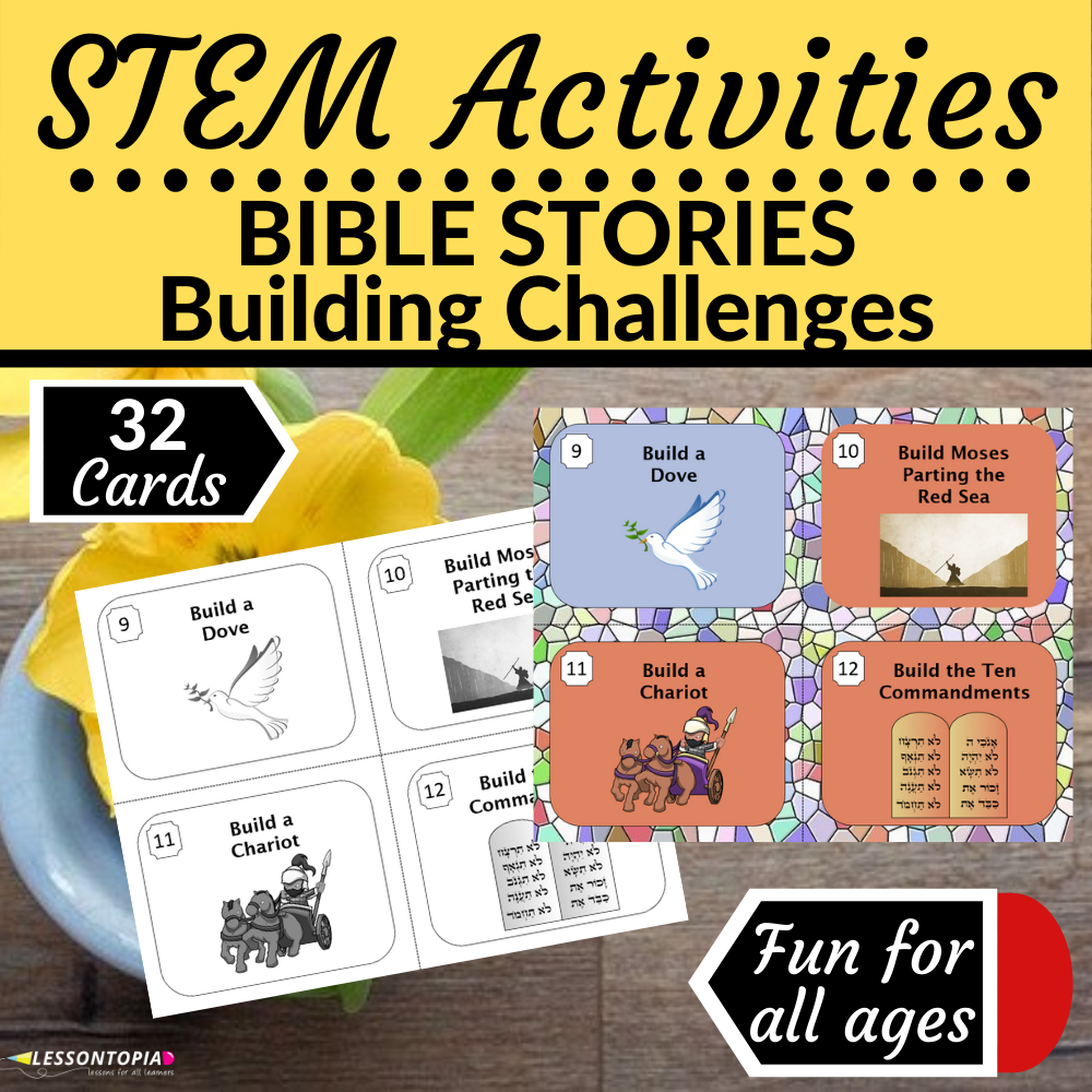 STEM Activities | Bible Story Building Challenges