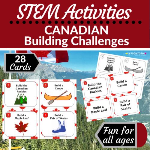 STEM Activities   Canada   Canadian Building Challenges