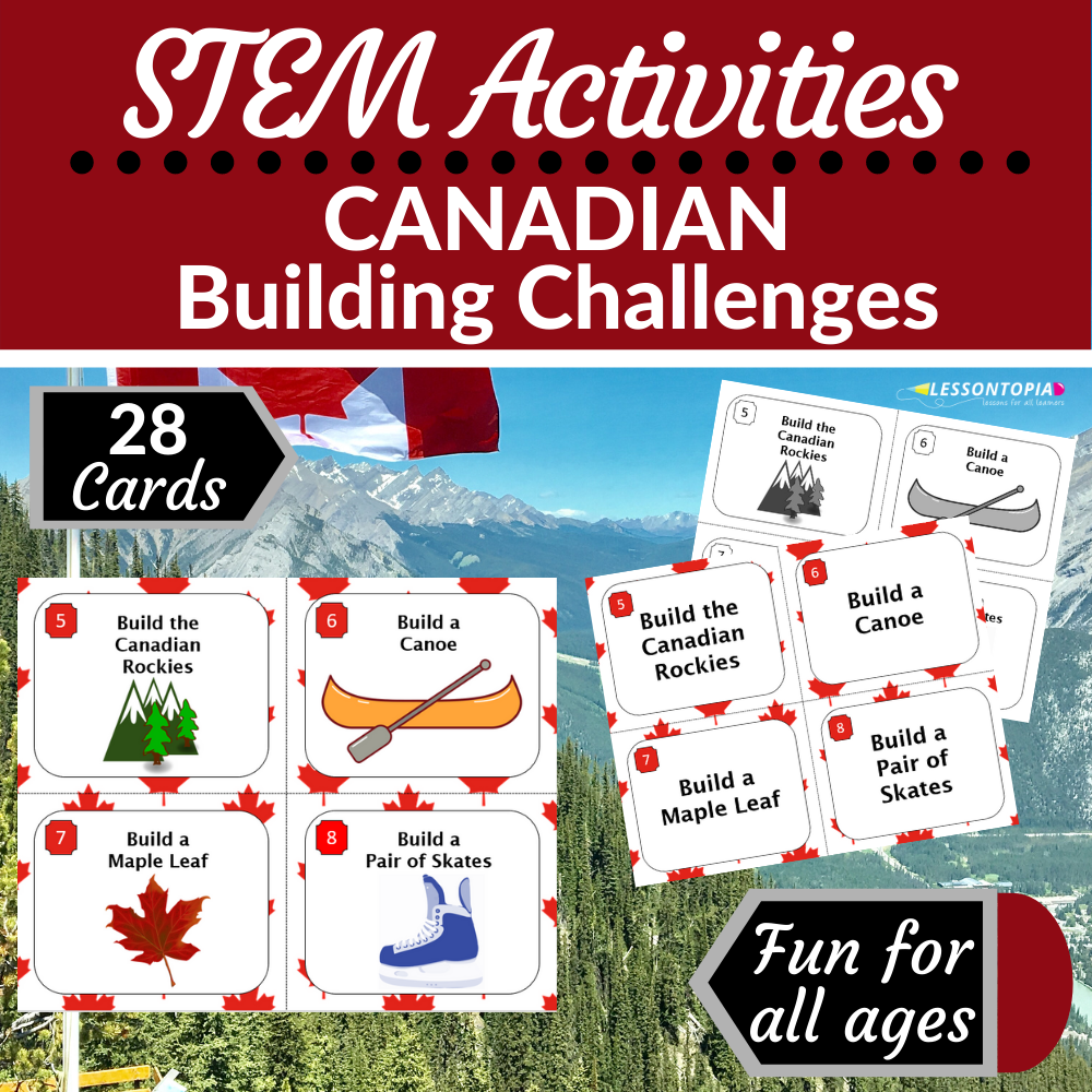 STEM Activities | Canada | Canadian Building Challenges