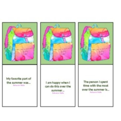 Social Skills: Back to School Conversation Cards (Growth Mindset/SEL) 20 Cards
