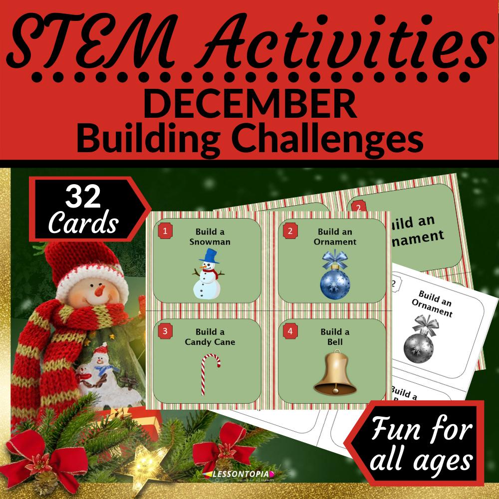 STEM Activities | December Building Challenges