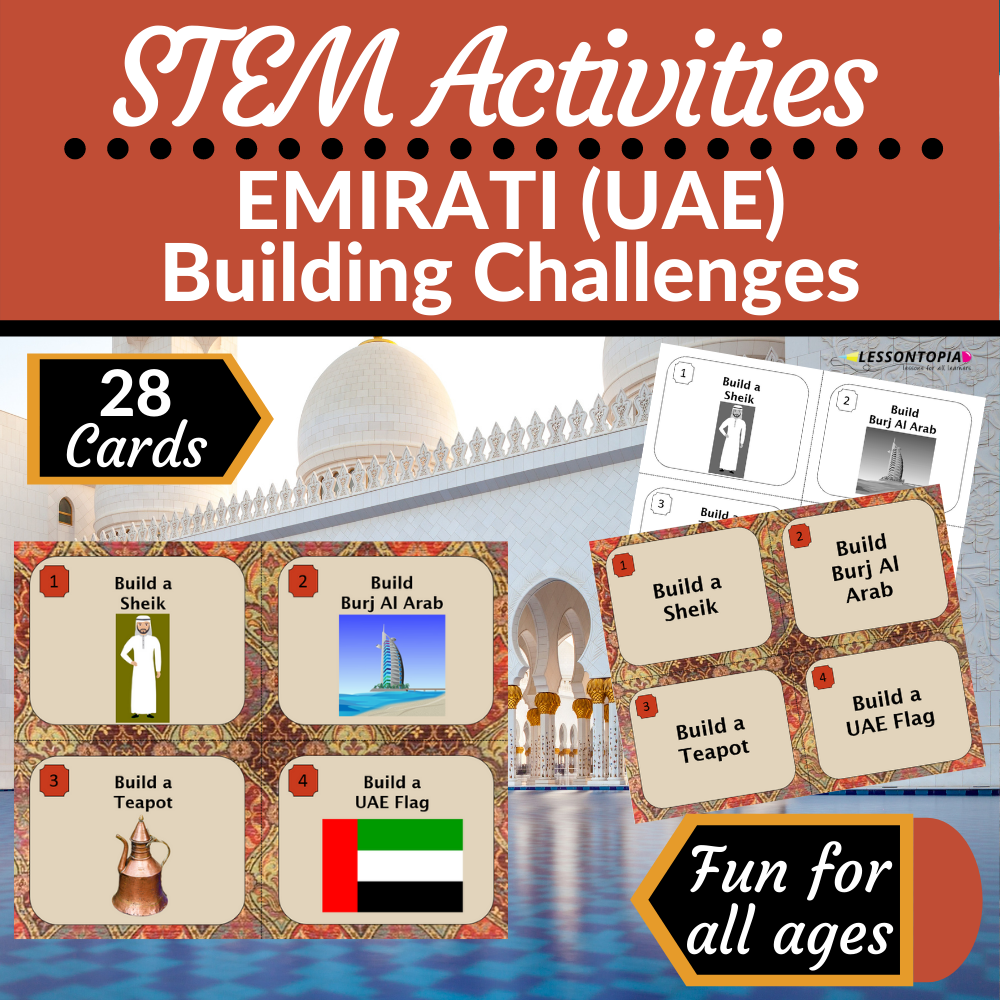 STEM Activities   United Arab Emirates   Emirati Building Challenges