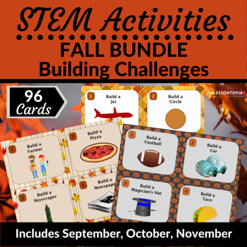 STEM Activities   Fall Bundle's featured image