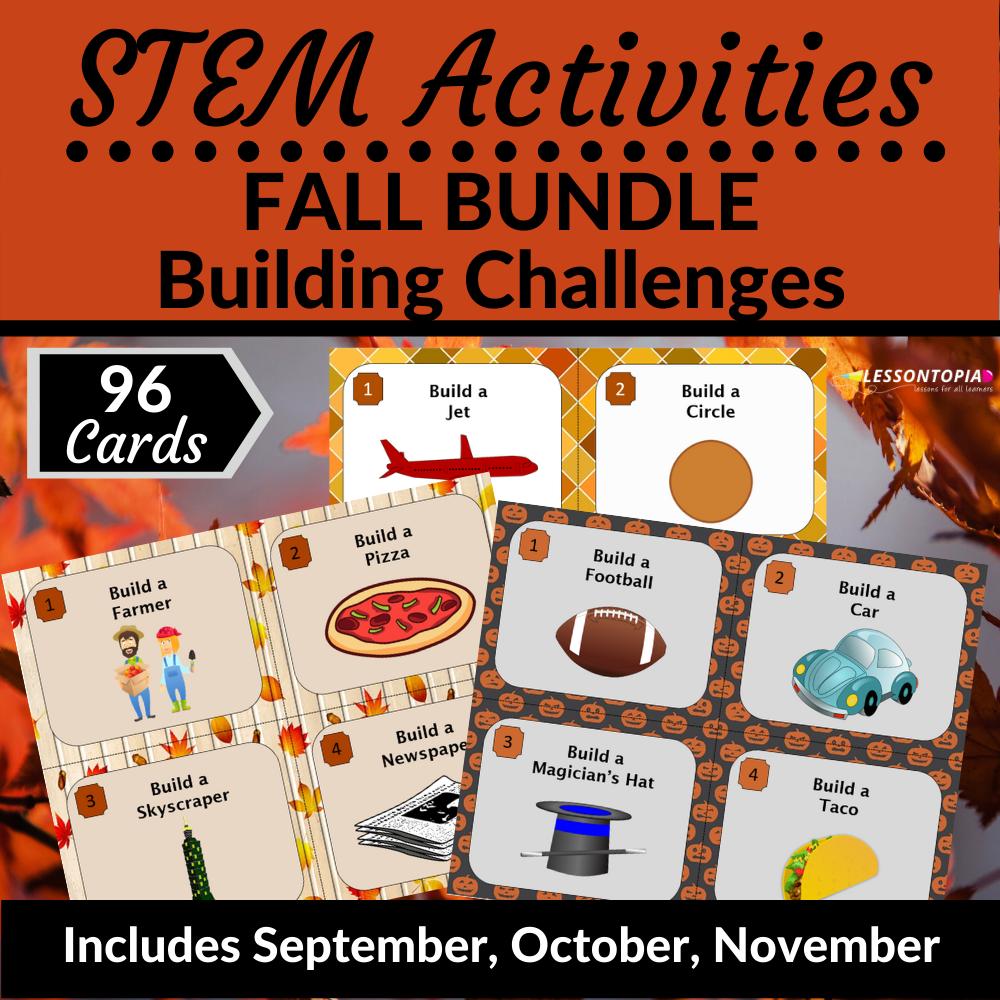 STEM Activities | Fall Bundle