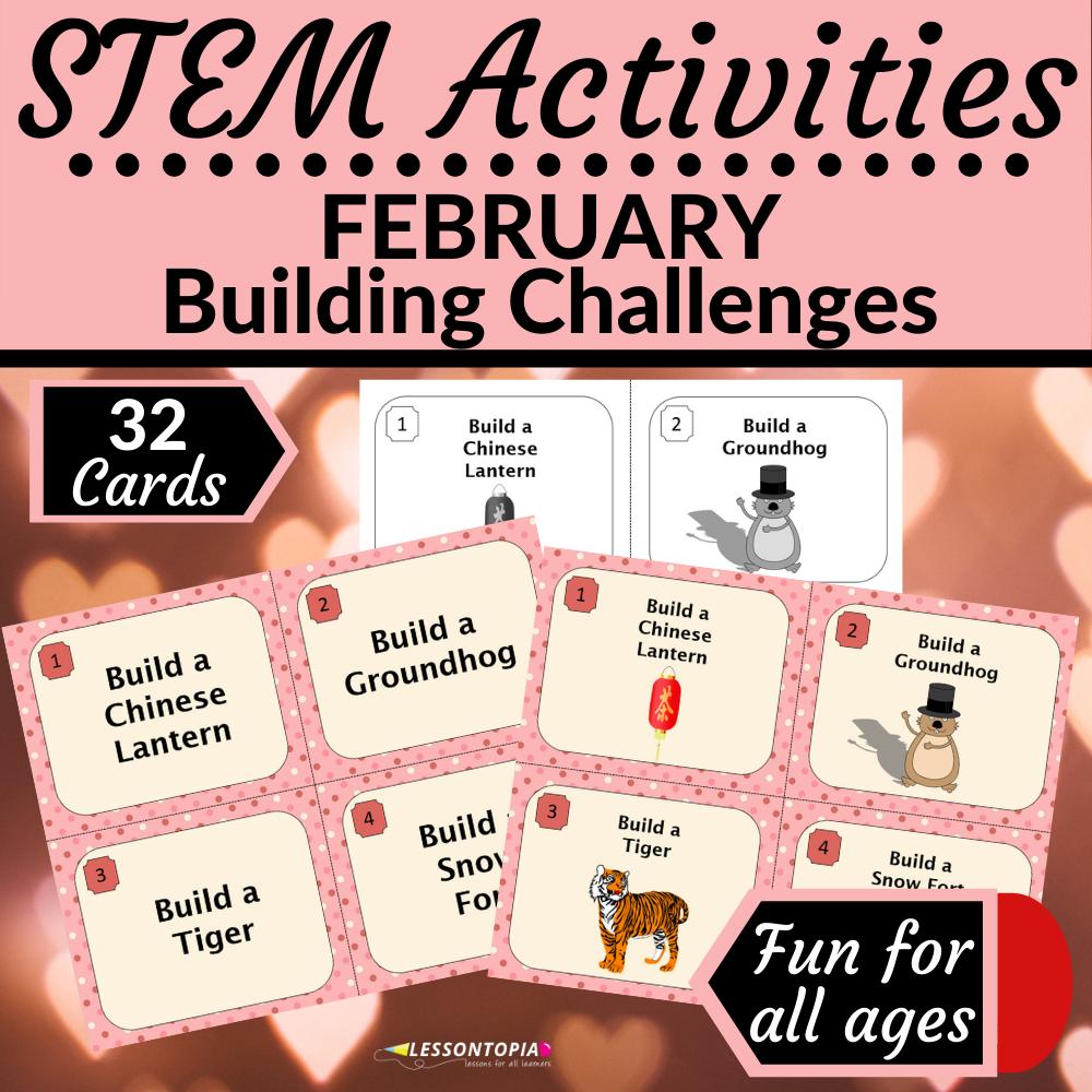 STEM Activities | February Building Challenges