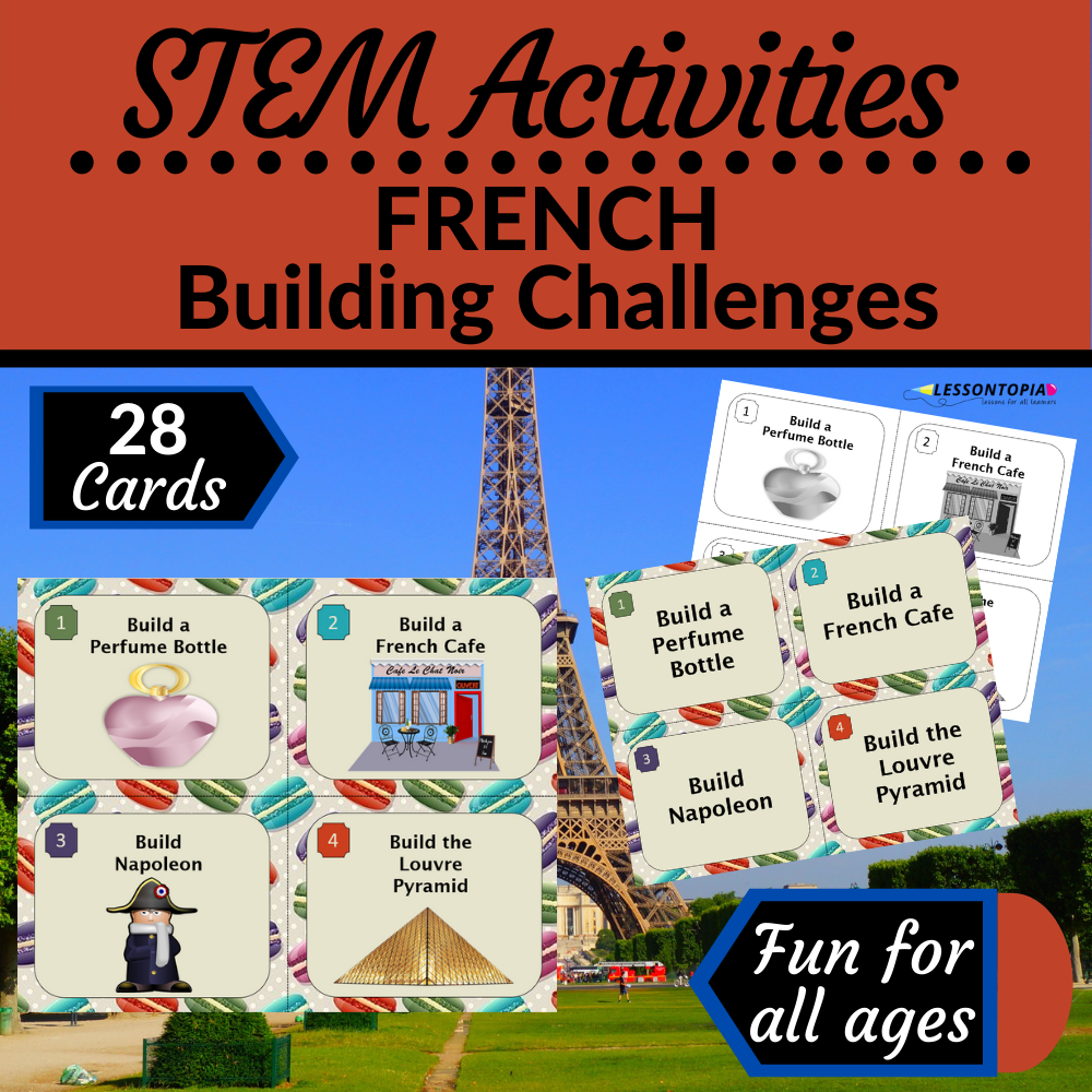STEM Activities   France   French Building Challenges