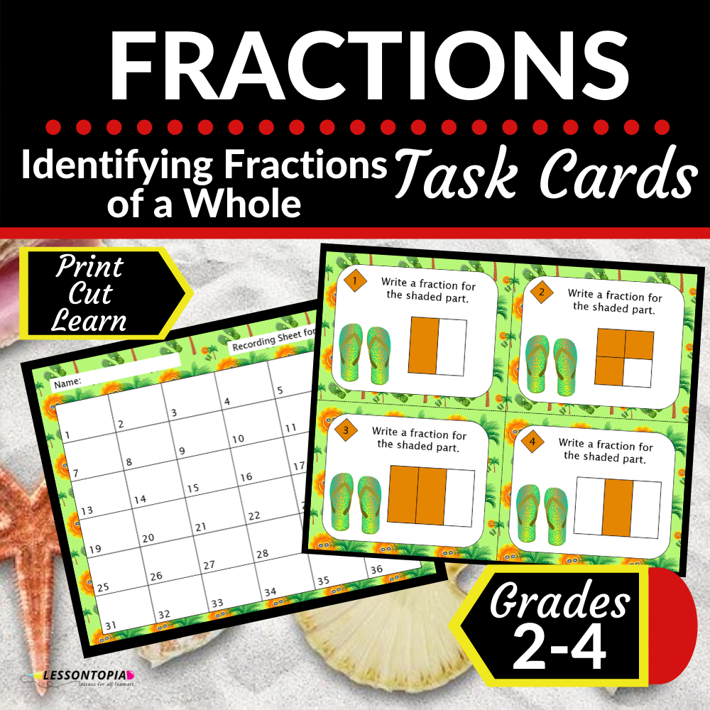 Fractions | Identifying Fractions of a Whole
