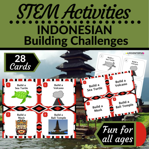 STEM Activities | Indonesia | Indonesian Building Challenges
