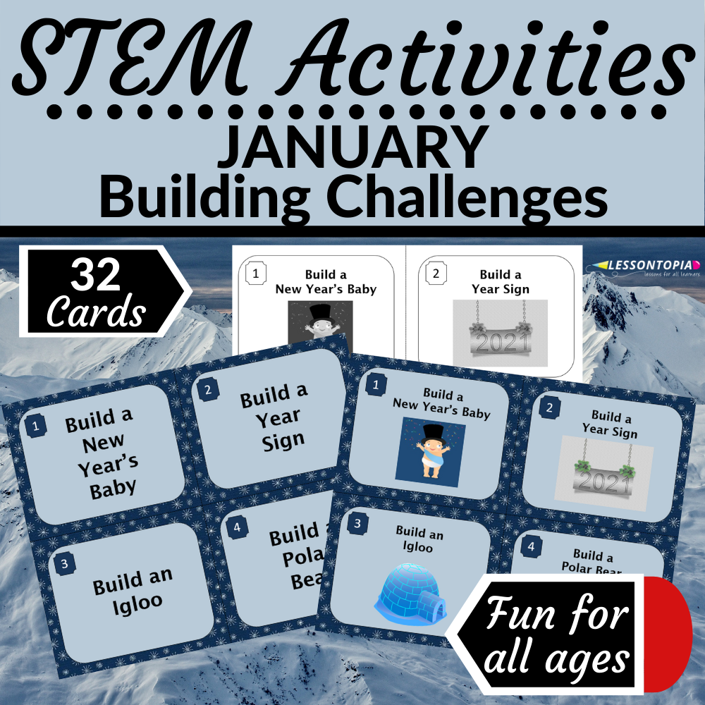 STEM Activities | January Building Challenges