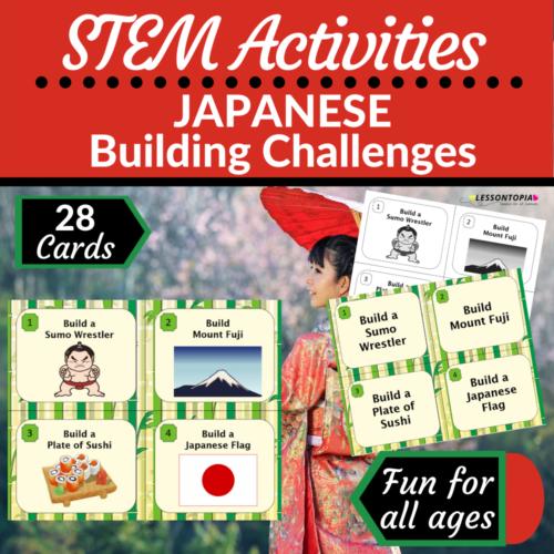 STEM Activities | Japan | Japanese Building Challenges