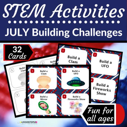 STEM Activities | July Building Challenges