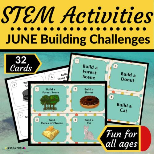 STEM Activities | June Building Challenges
