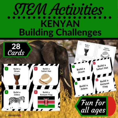 STEM Activities   Kenya   Kenyan Building Challenges