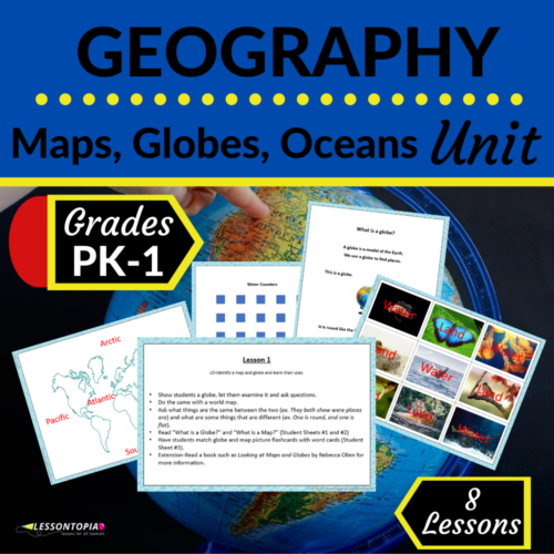 Geography   Map, Globe, and Ocean Unit