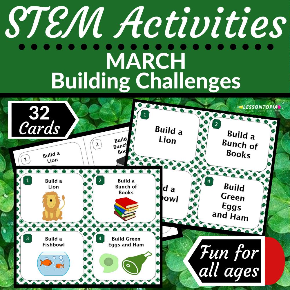 STEM Activities | March Building Challenges