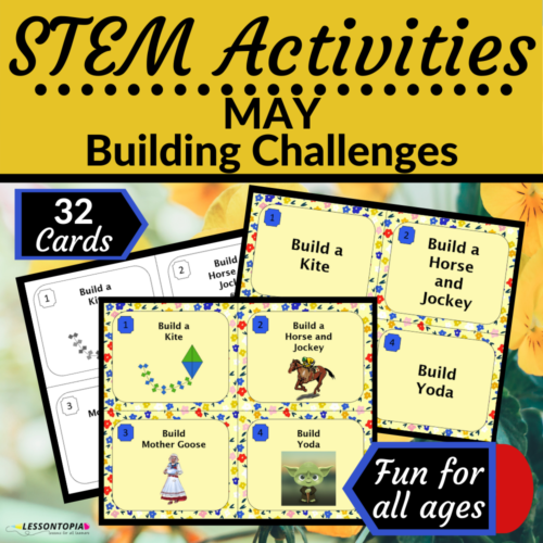 STEM Activities | May Building Challenges