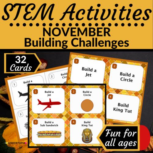 STEM Activities | November Building Challenges