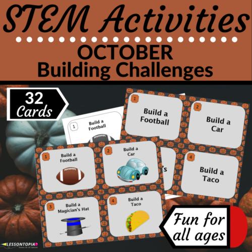 STEM Activities | October Building Challenges