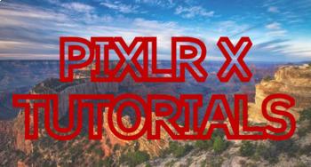 Introduction to Photo Editing w/ the free program PIXLR X - Chromebook Friendly