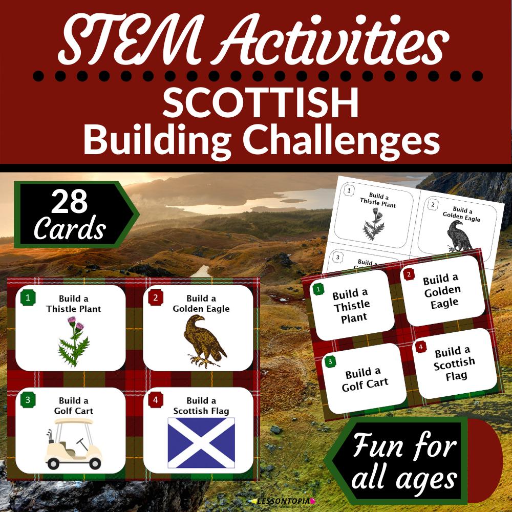 STEM Activities | Scotland | Scottish Building Challenges