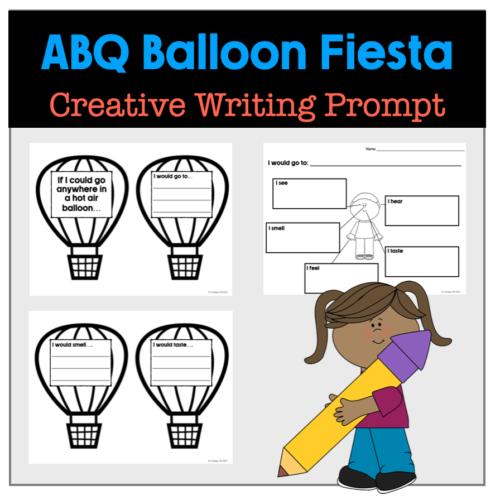 ABQ Hot Air Balloon Fiesta Creative Writing Prompt
