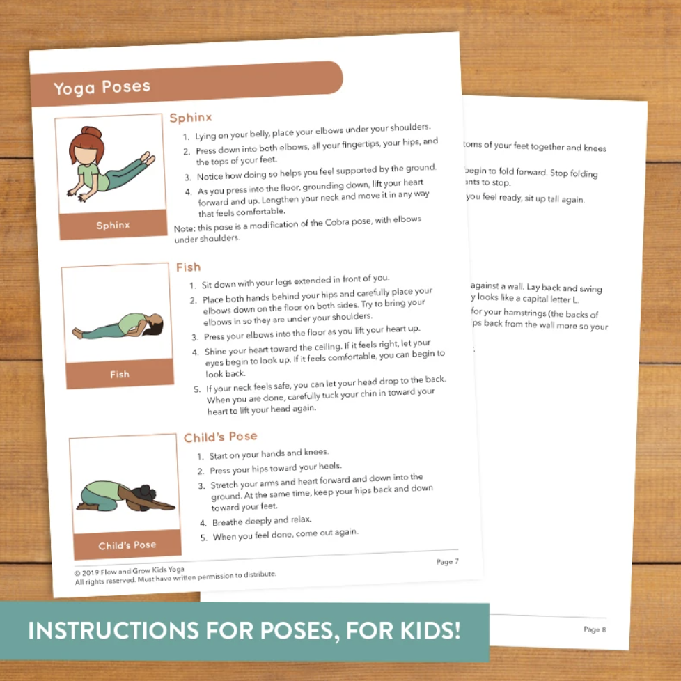 Bedtime Yoga Cards's featured image