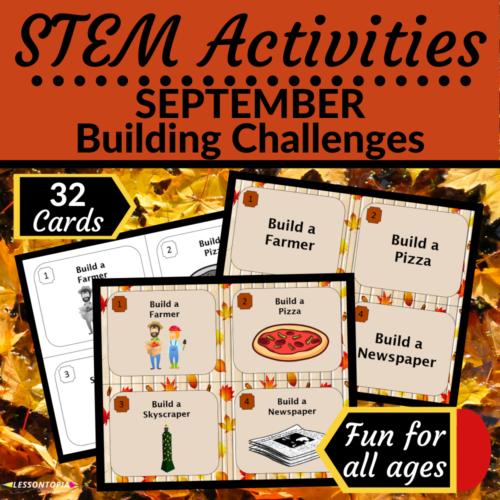 STEM Activities | September Building Challenges