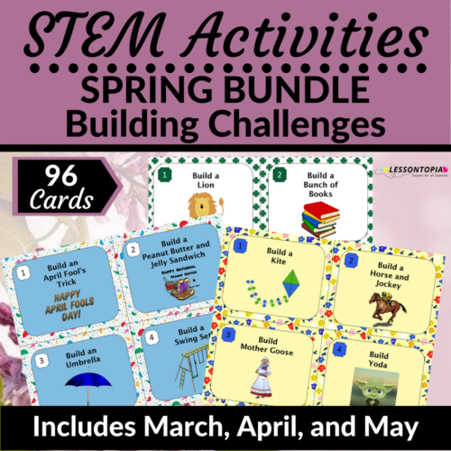STEM Activities | Spring Bundle