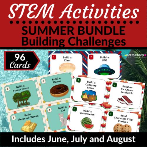 STEM Activities | Summer Bundle