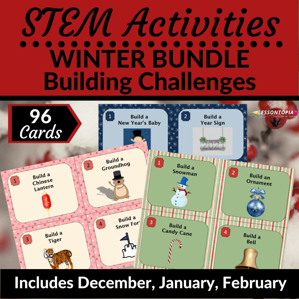 STEM Activities | Winter Bundle