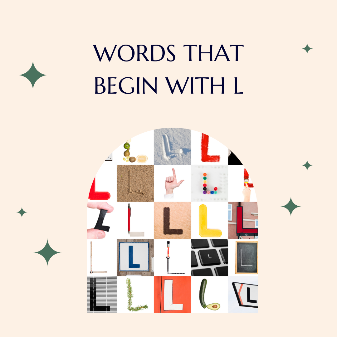 Words that begin with L's featured image