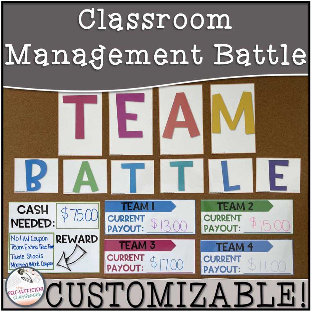 Classroom Management Battle