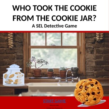 SEL Detective PowerPoint Game: Who Took the Cookie from the Cookie Jar?